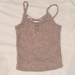 NEW | Knitted Ribbed Tank